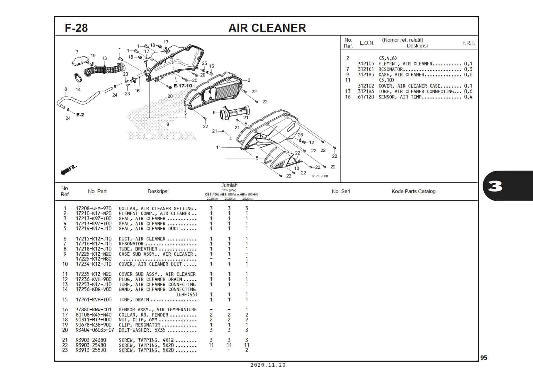 F-28 Air Cleaner