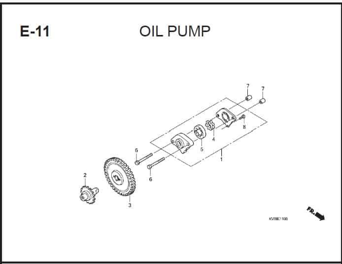E-11 Oil Pump