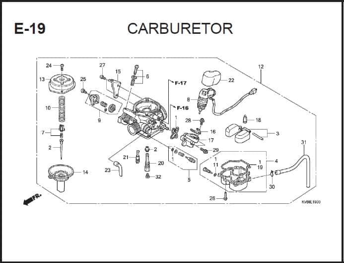 E-19 Carburator