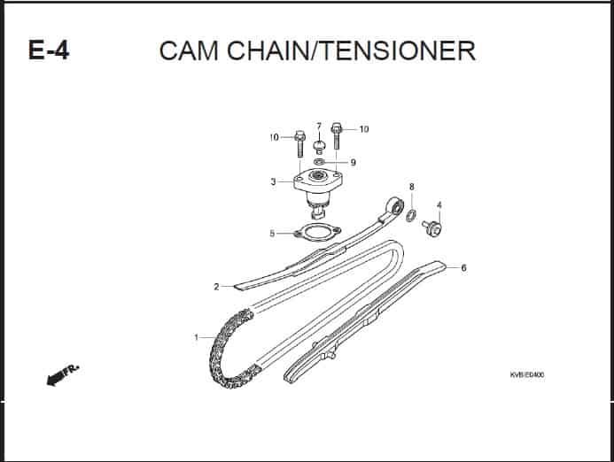 E-4 Cam Chain