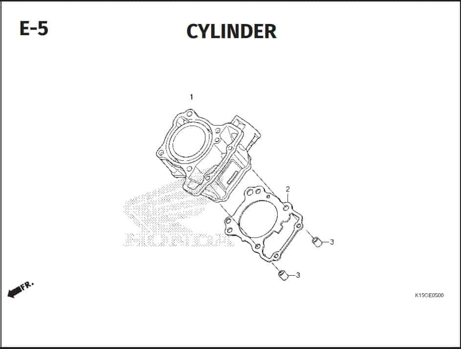 E-5 Cylinder Head