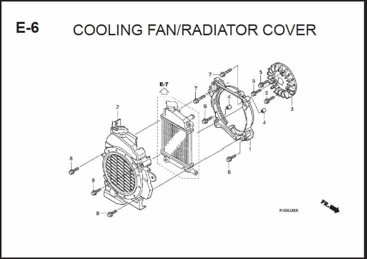 E-6 Cooling Fan