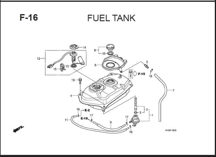 F-16 Fuel Tank