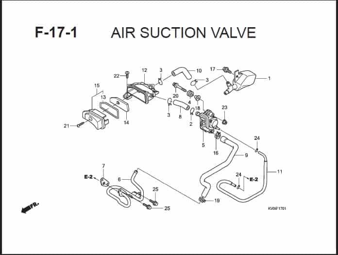 F-17-1 Air Suction Valve