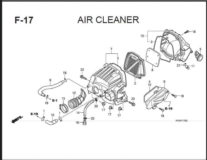 F-17 Air Cleaner