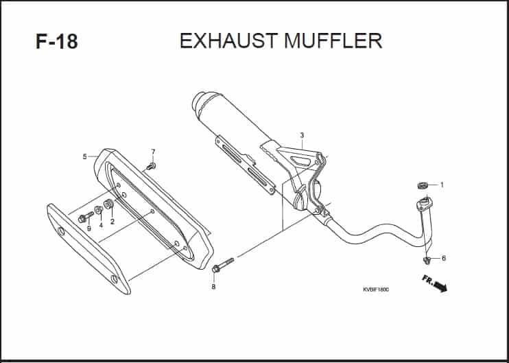F-18 Exhaust Muffler