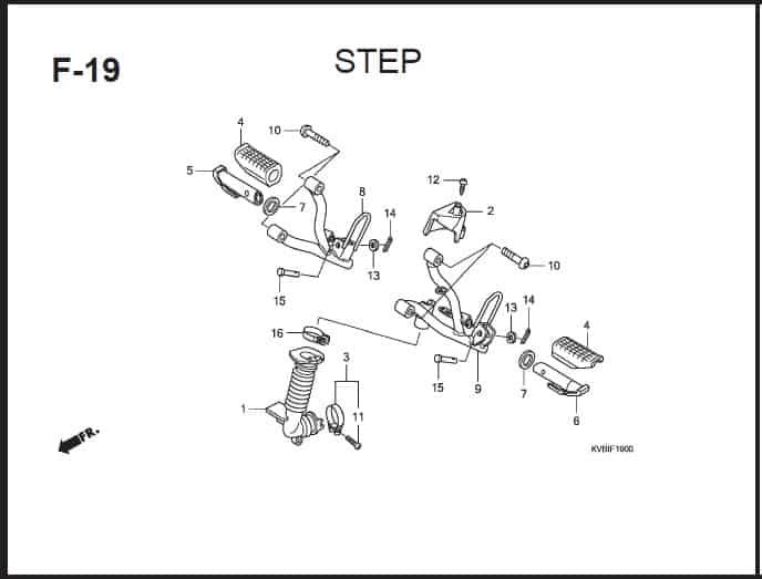 F-19 Step