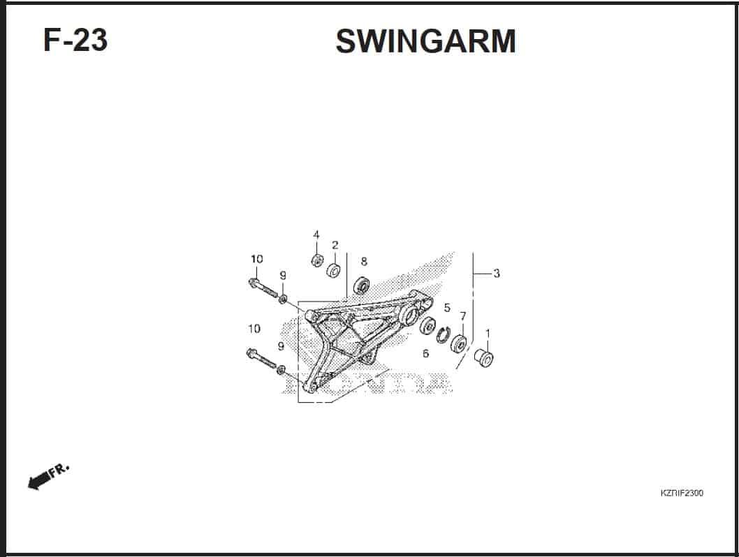 F-23 Swingarm