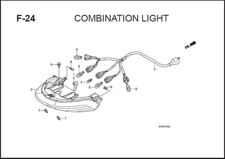 F-24 Combination Light