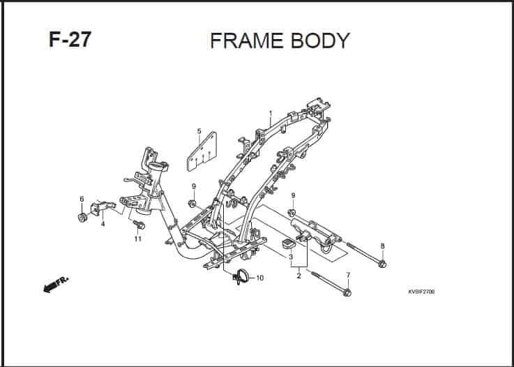 F-27 Frame Body