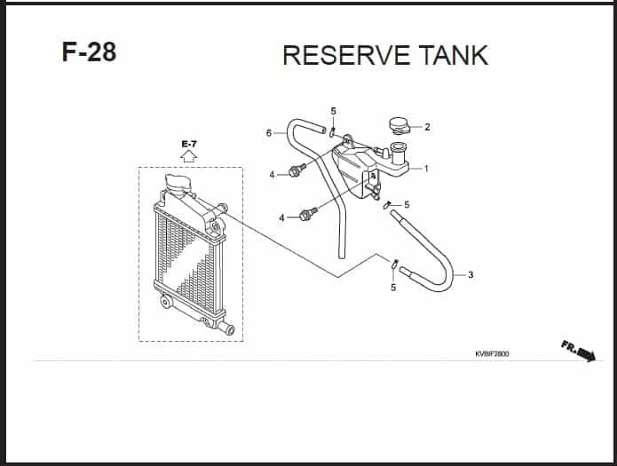 F-28 Reserve Tank