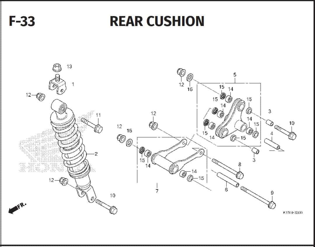 F-33 Rear Cushion