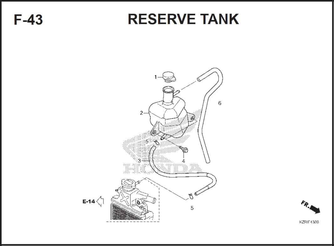 F-43 Reserve Tank