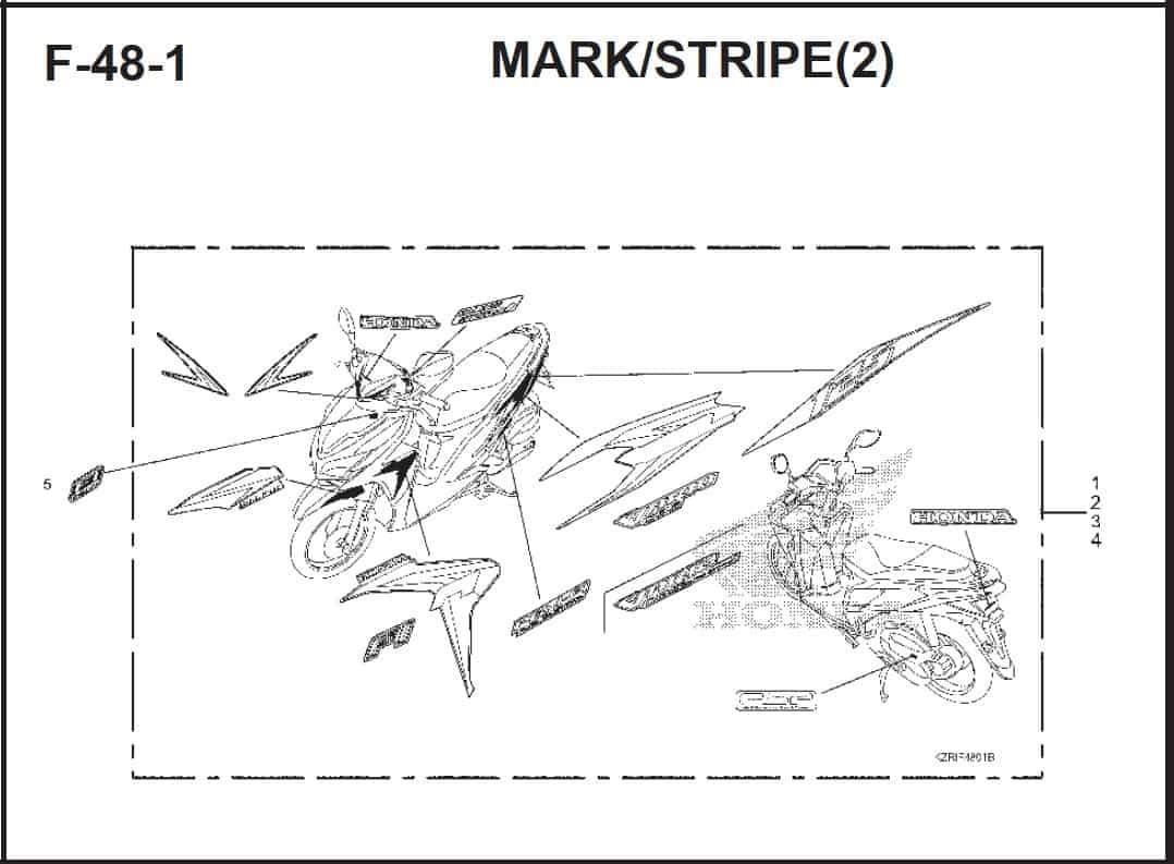 F-48-1 Mark Stripe