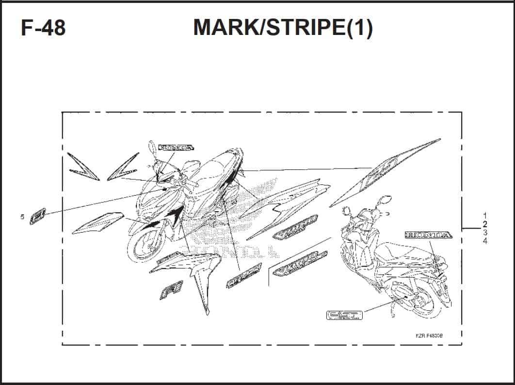 F-48 Mark Stripe
