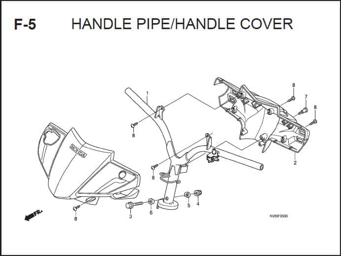F-5 Handle Pipe