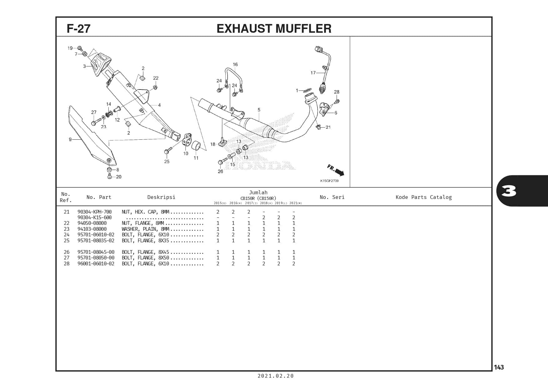 F-27 Exhaust Muffler