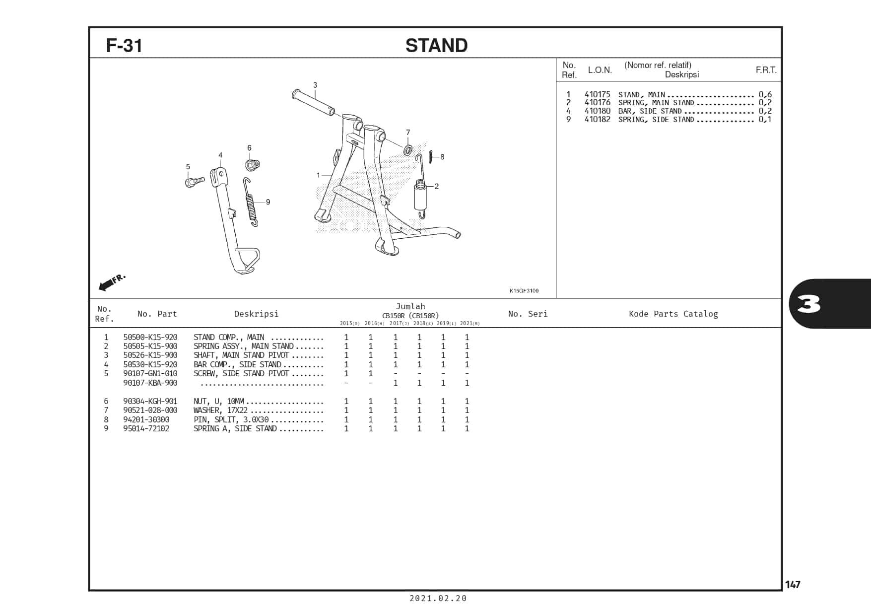 F-31 Stand