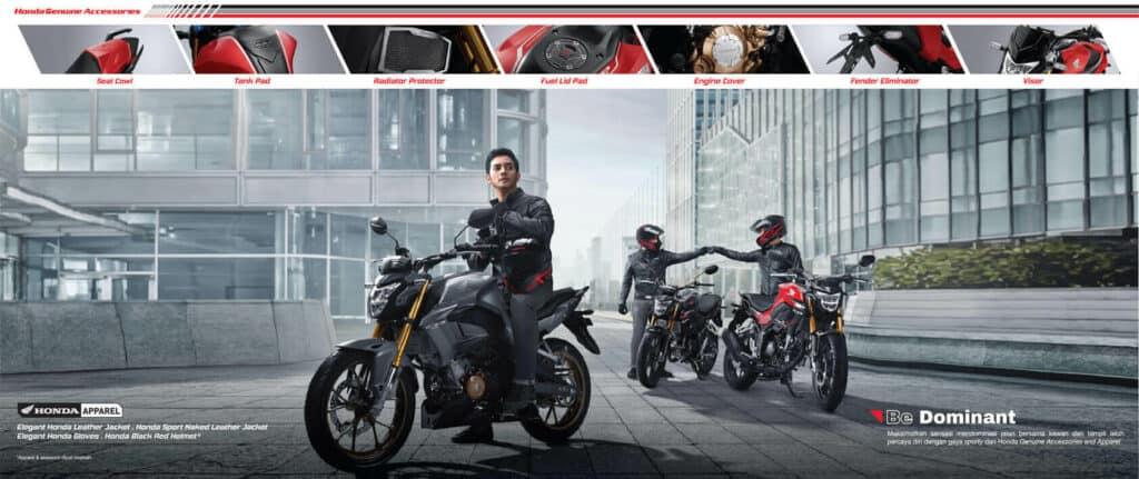 Daftar Aksesoris New Honda CB150R StreetFire