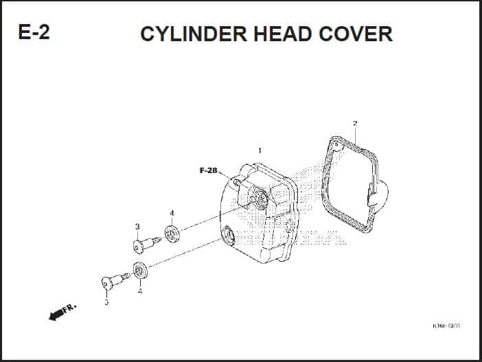 E-2 Cylinder Head Cover