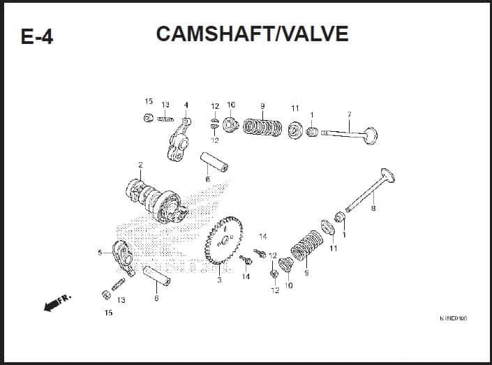 E-4 Camshft Valve