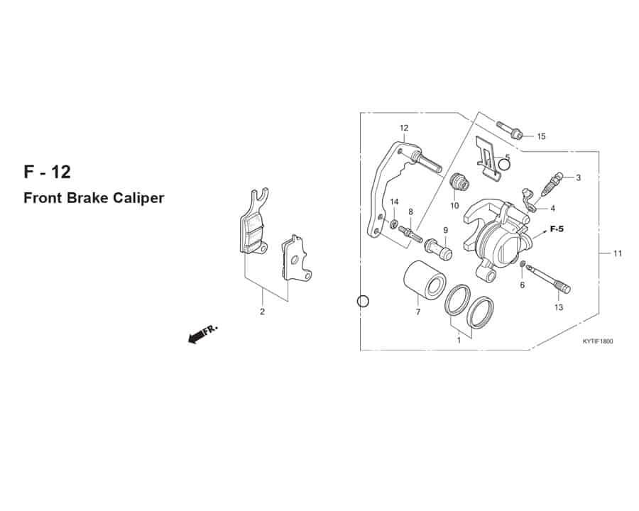 F-12 Front Brake