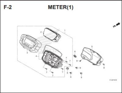 F2- Meter (1) – Katalog Honda BeAT K1A