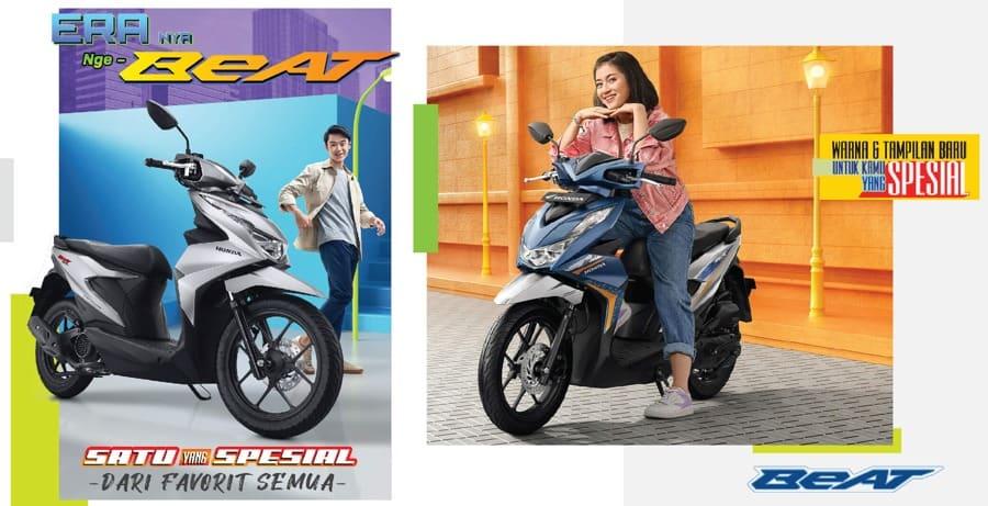 Honda New BeAT eSP – Tampil Lebih Sporty