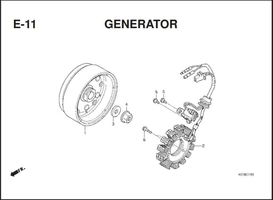 E-11 GENERATOR