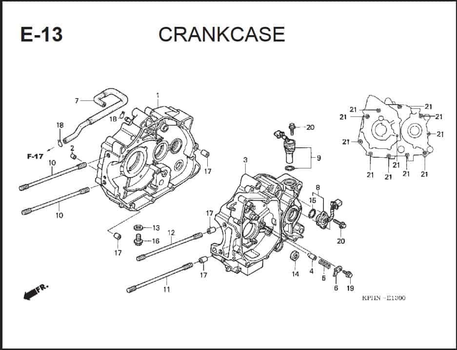 E-13 CrankCase