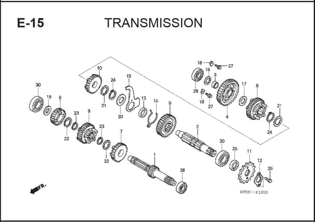 E-15 Transmission