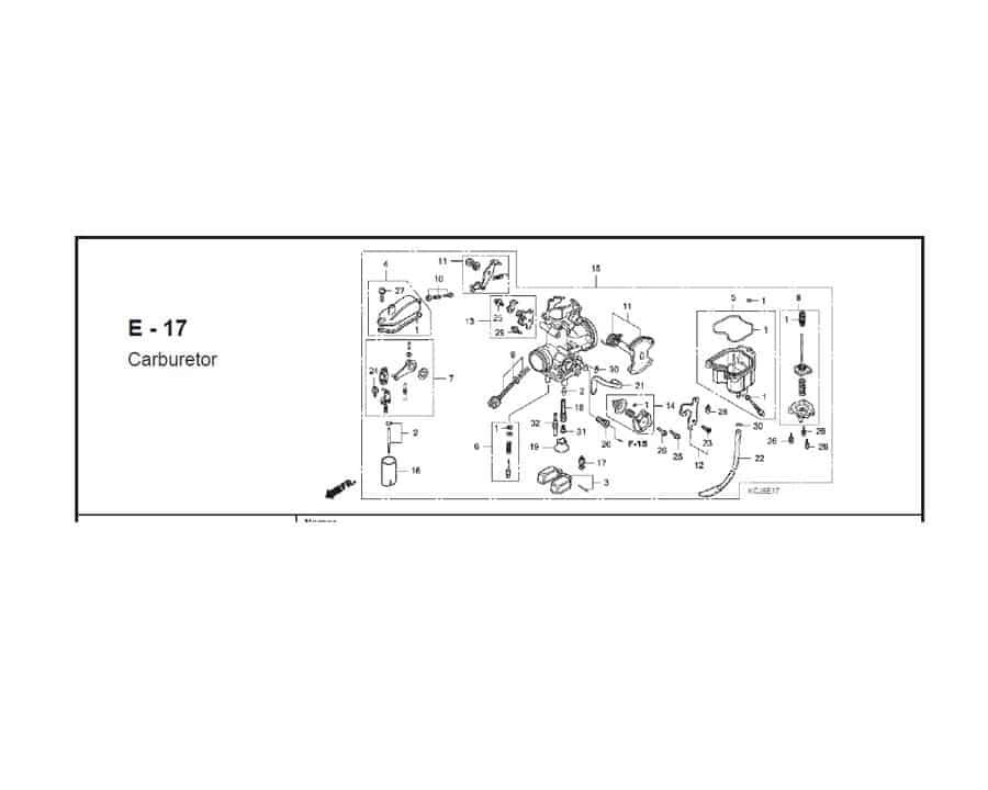E-17 CARBURETOR