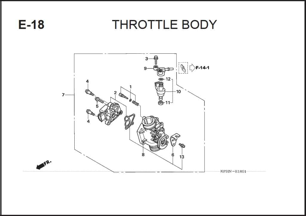 E-18 Throttle Body