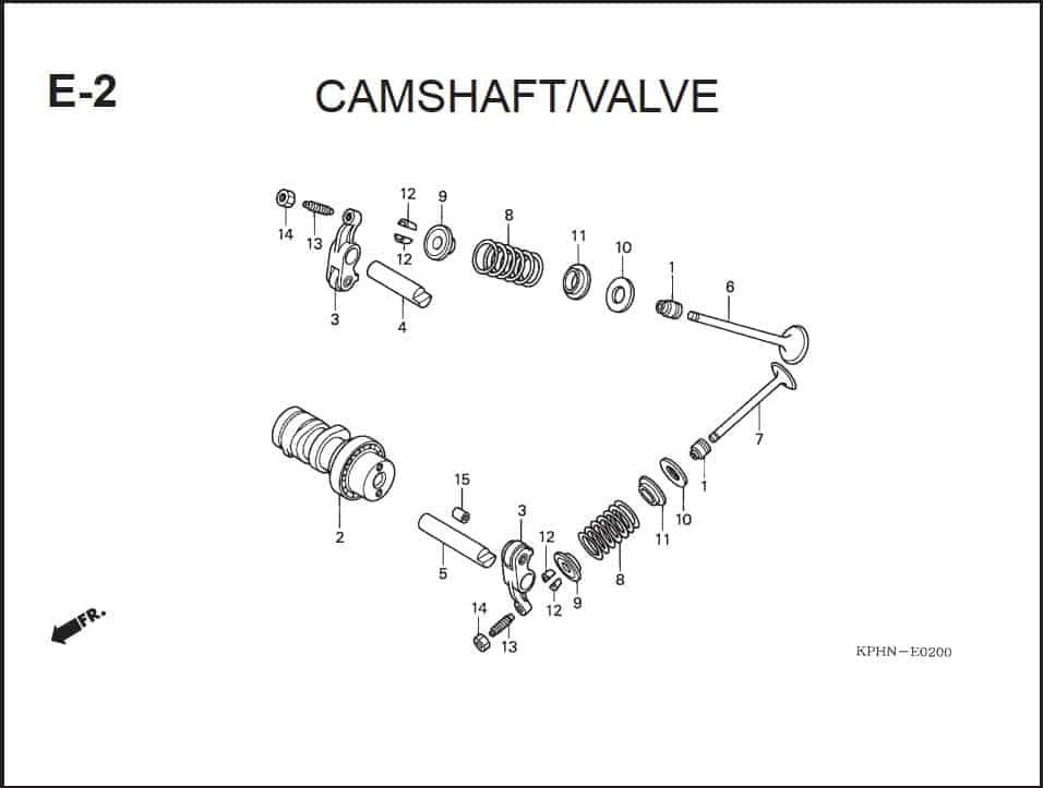 E-2 CamShaft Valve