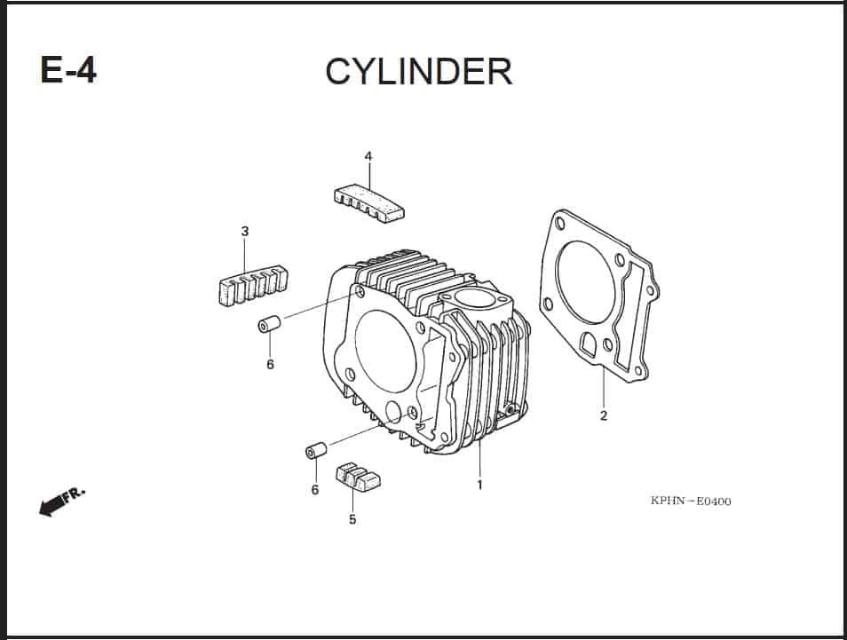E-4 Cylinder
