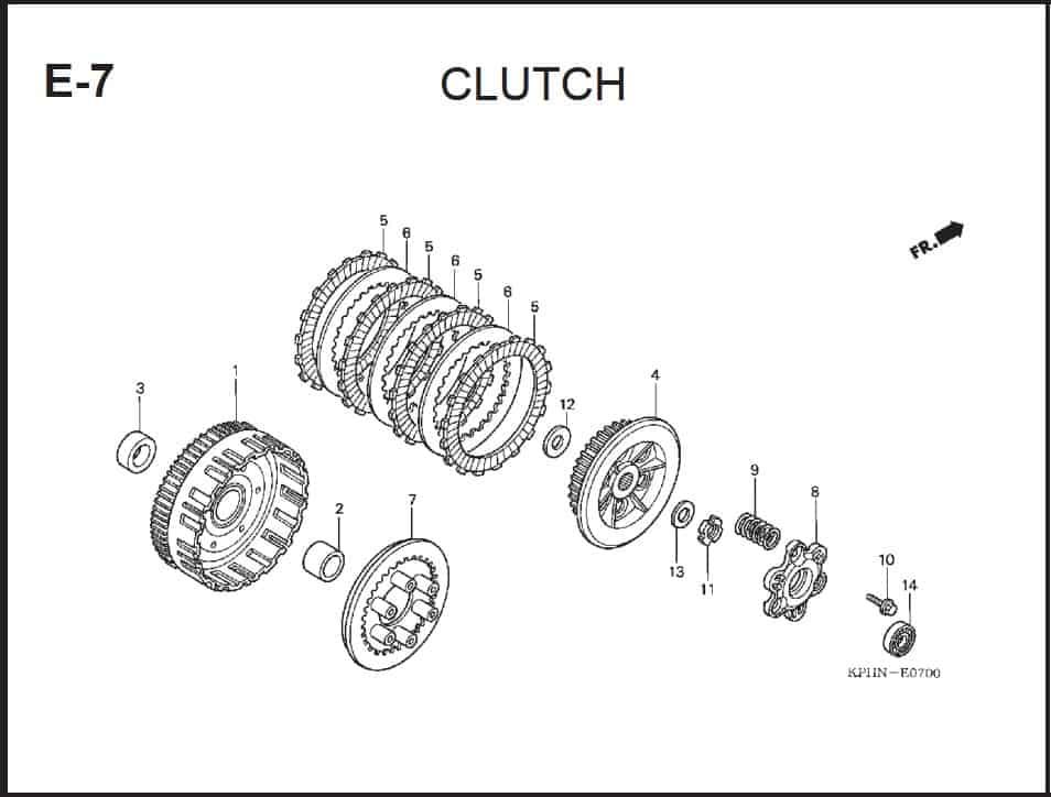 E-7 Clutch