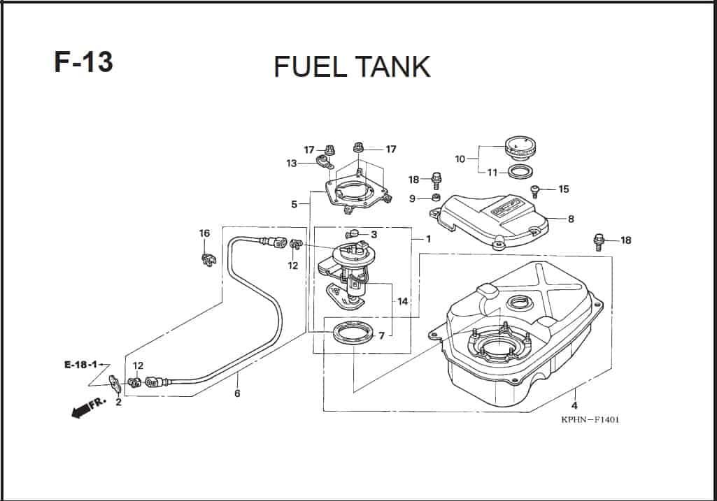 F-13 Fuel Tank