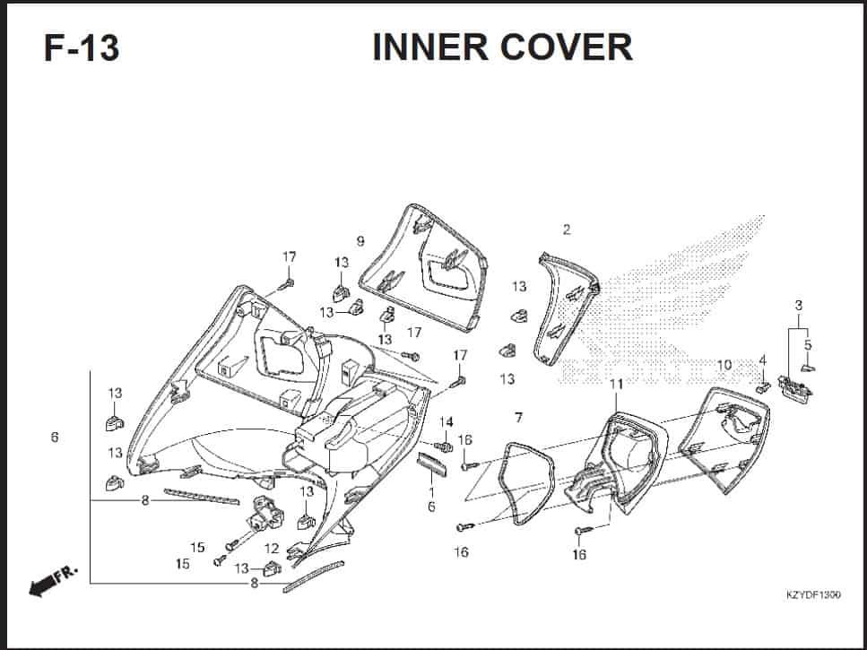 F-13 Inner Cover