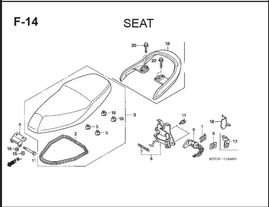 F-14 Seat