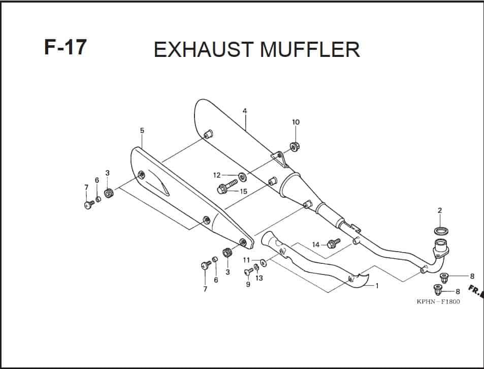F-17 Exhaust Muffler