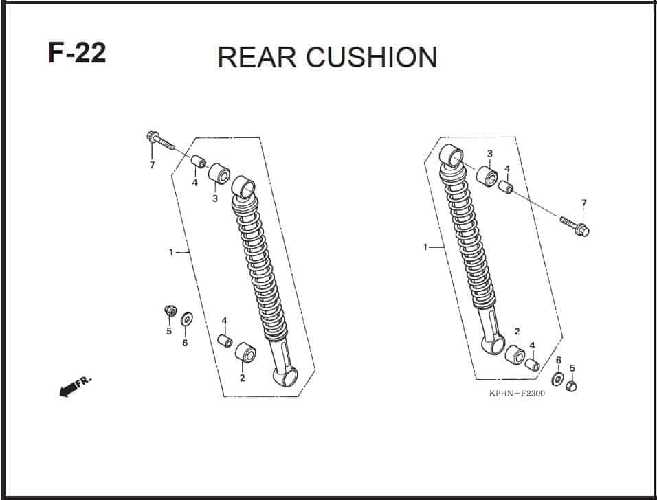 F-22 Rear Cushion