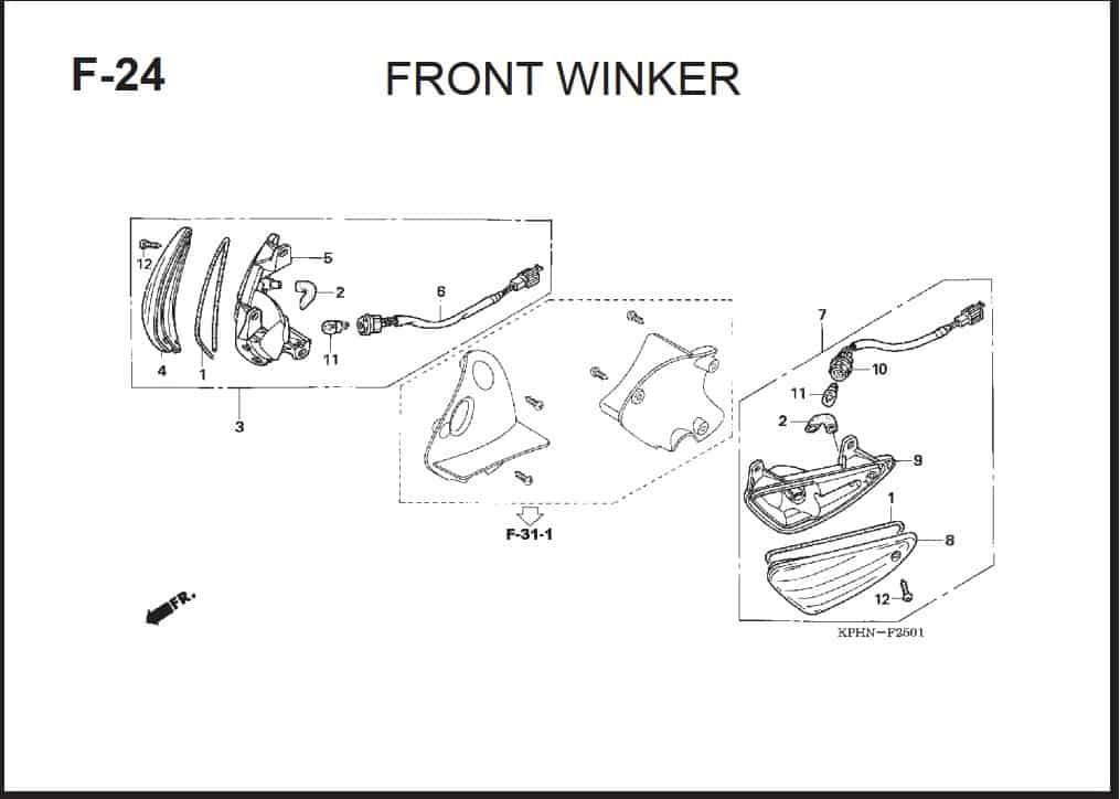 F-24 Front Winker