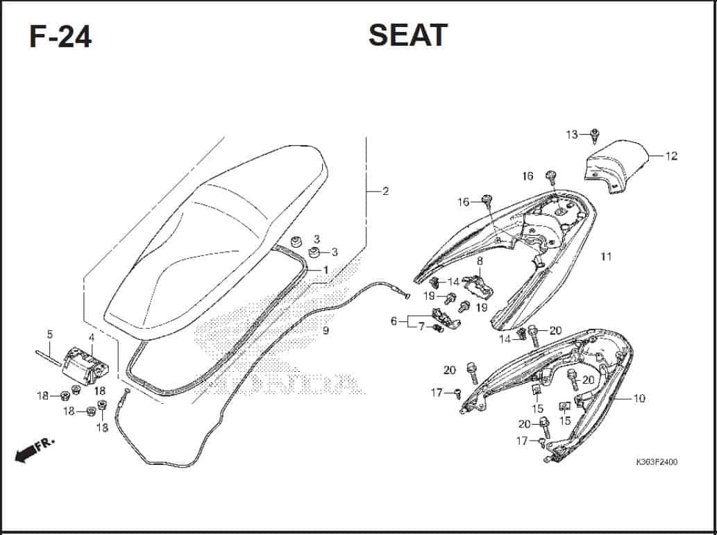 F-24 Seat
