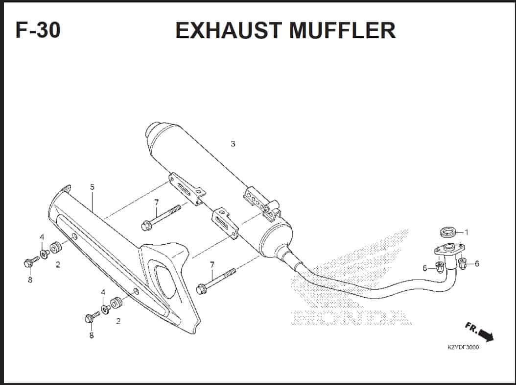 F-30 Exhaust Muffler