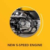 New 5 Speed Engine