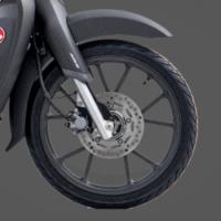 V-Shapes Cast Wheel & Tubelles Tire