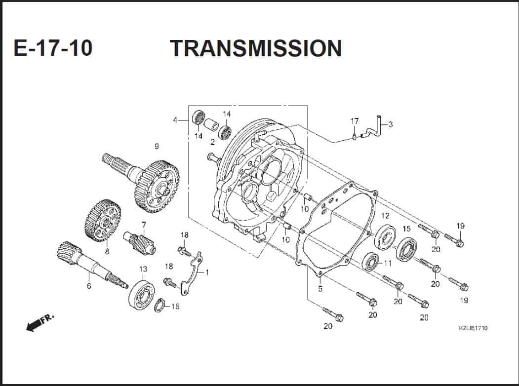 E-17-10 TRANSMISSION