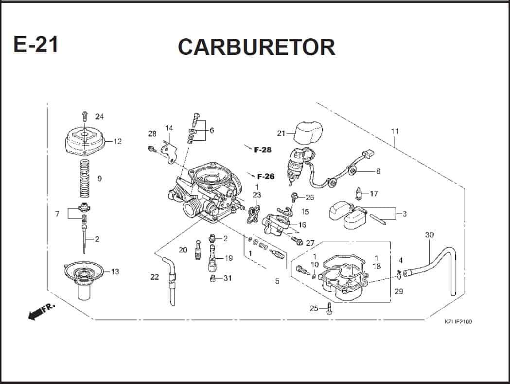 E-21 CcARBURETOR