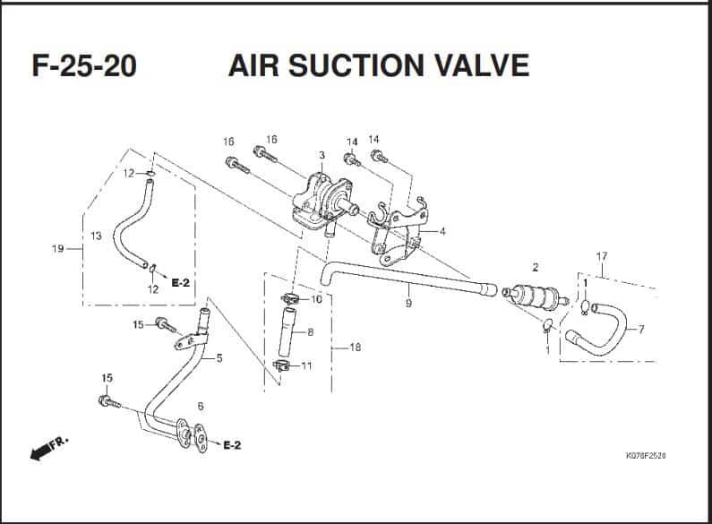 F-25-20 AIR SUCTION VALVE