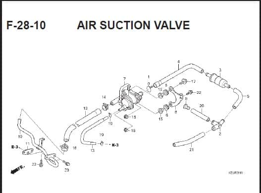 F-28-10 AIR SUCTION VALVE